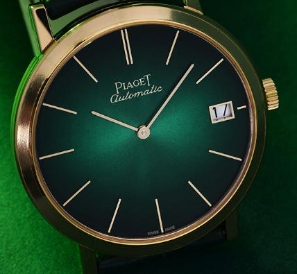 维修服务中心维修好的伯爵手表展示